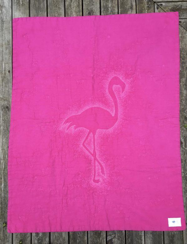 Pink Flamingo Baby Quilt / Play Mat - 6E9901F3 8D1C 44A4 94E9 838558CBE772 1 201 a