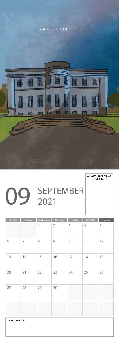 Building Ireland 2021 Calendar - A5 CAL WITH DRAWINGS 10