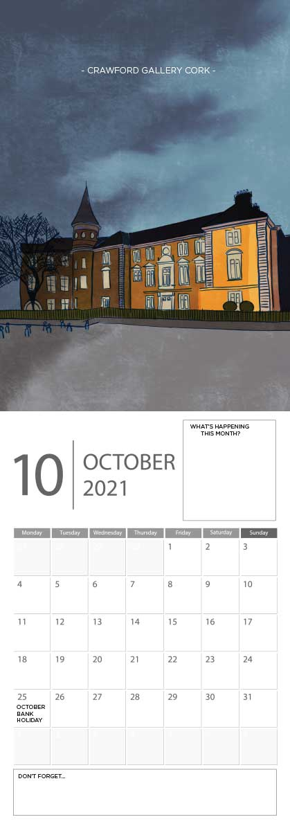 Building Ireland 2021 Calendar - A5 CAL WITH DRAWINGS 11
