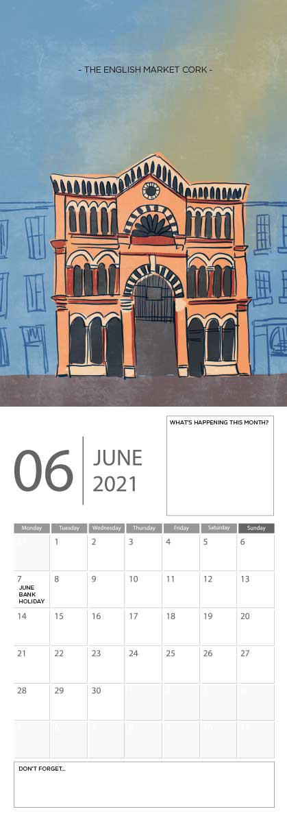 Building Ireland 2021 Calendar - A5 CAL WITH DRAWINGS 7