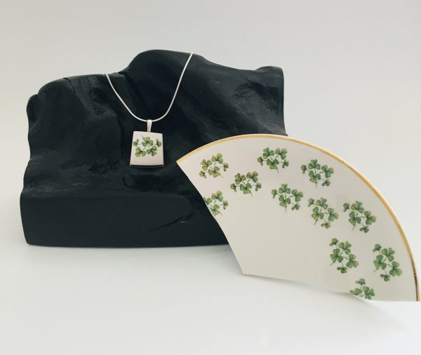 Vintage China Necklace