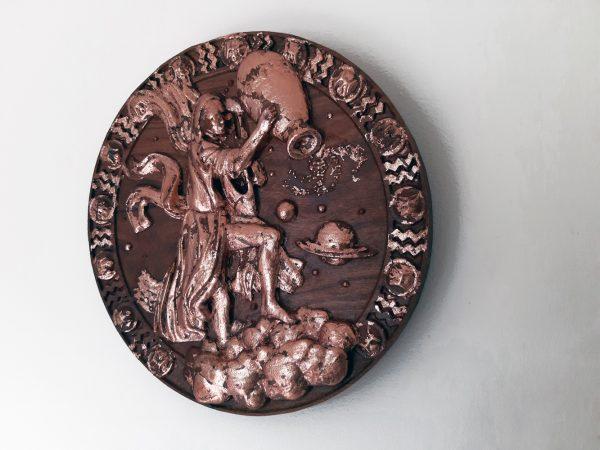 Aquarius Wood Carving - Aquarius 1
