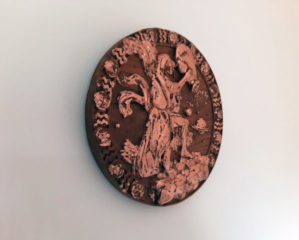 Aquarius Wood Carving