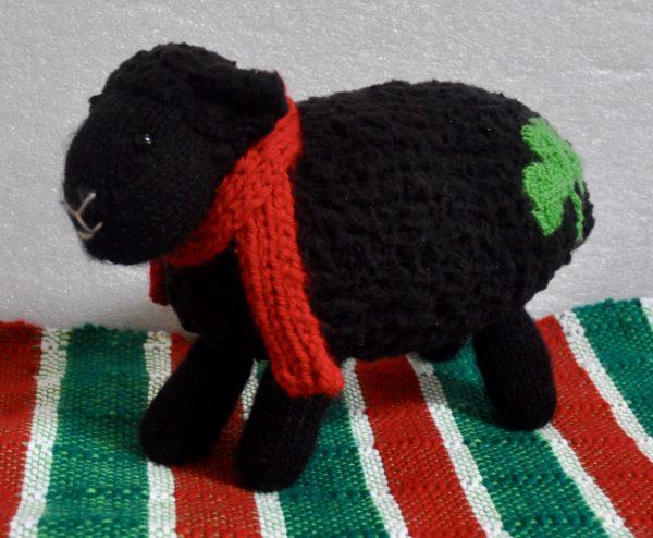 An Irish Classic Stuffed Sheep Toy - C926332F 9505 4105 8ECC EF807E2BFA35 1 201 a
