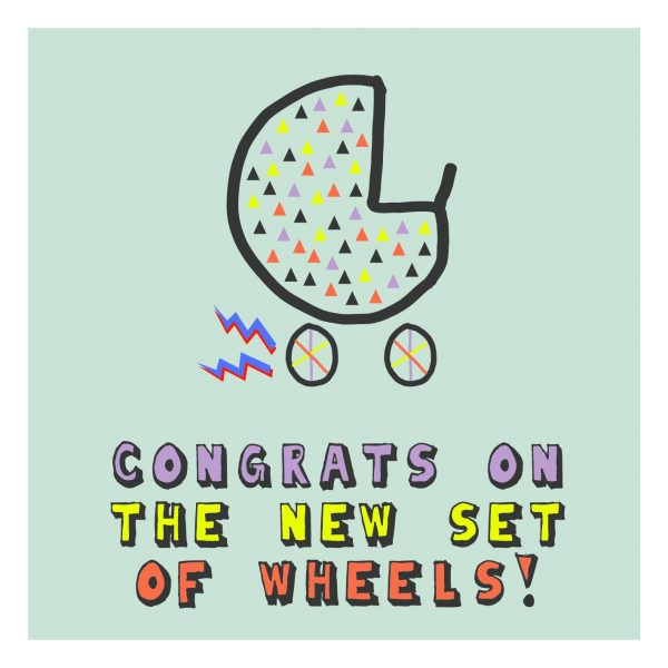 Congrats on the new set of wheels!
