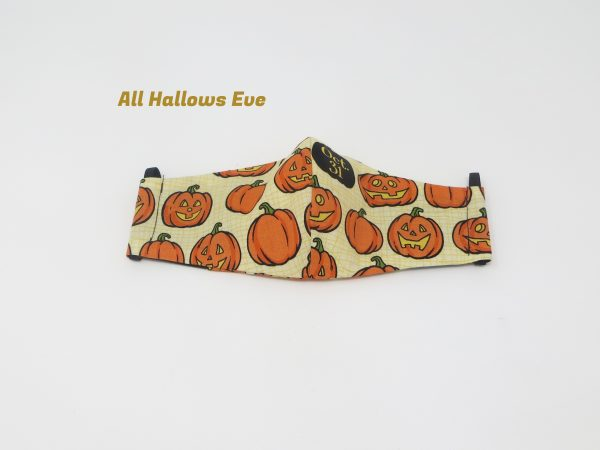 Halloween Face Masks - Face Mask H All Hallows Eve scaled