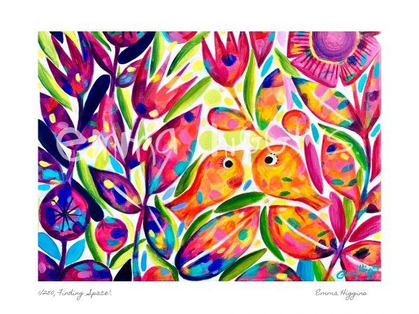 Finding Space Limited Edition Fine Art Print - Finding Space Emma Higgins Web WM 2
