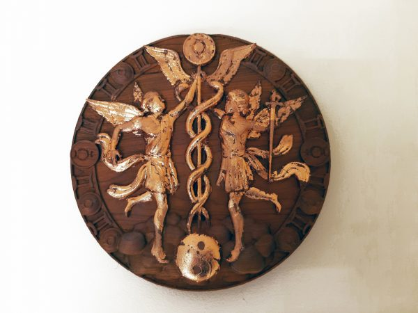 Gemini Wood Carving - Gemini 2