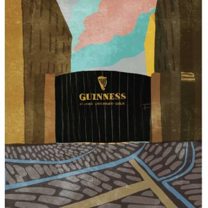 The Guinness Brewery wall print