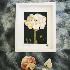 Tree of Hope Shell Art