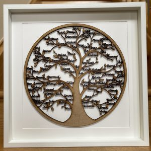 Tree of Life Personalised Frame