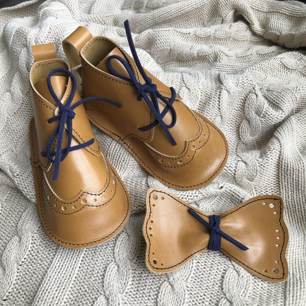 baby brogue shoes