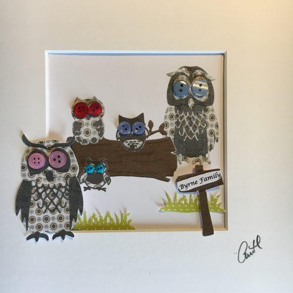 Personalised Owl Family Frame - IMG 6262 scaled
