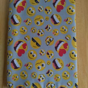 Emoji Fabric Covered Journal