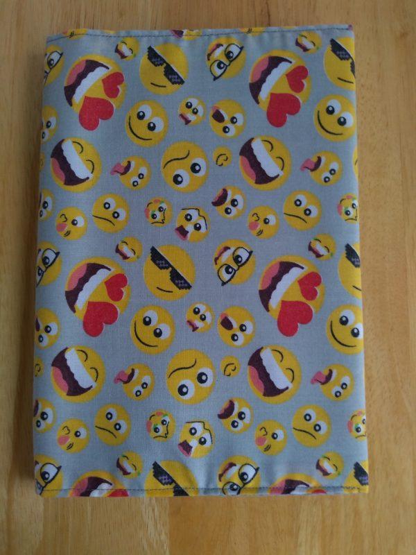 Emoji Fabric Covered Journal