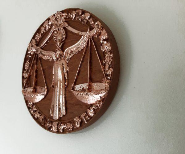 Libra Wood Carving - Libra 3