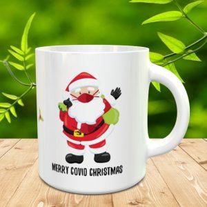 Covid Santa Mug