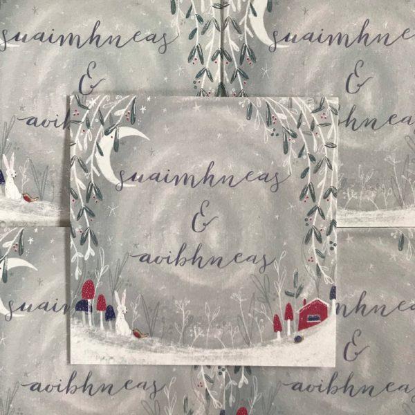 Suaimhneas & Aoibhneas - Christmas Card - Suaimhneas aoibhneas 2