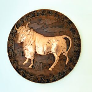 Taurus Wood Carving