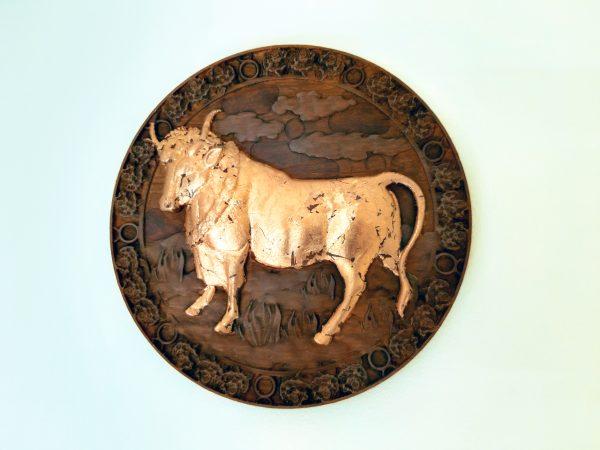 Taurus Wood Carving