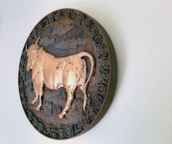 Taurus Wood Carving - Taurus 2