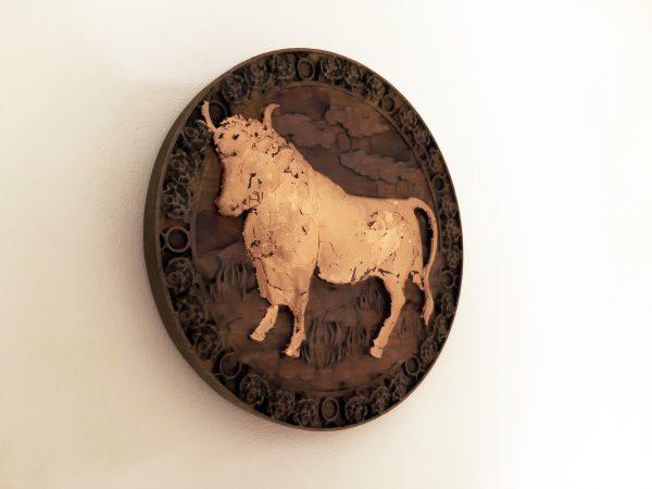 Taurus Wood Carving - Taurus 3