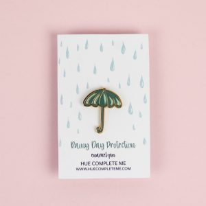 Umbrella Enamel Pin