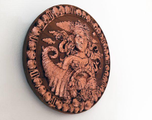 Virgo Wood Carving