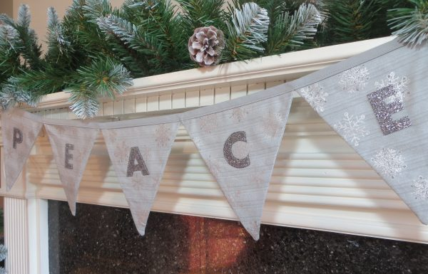 Christmas Bunting - Peace - X Mas Peace 1  scaled