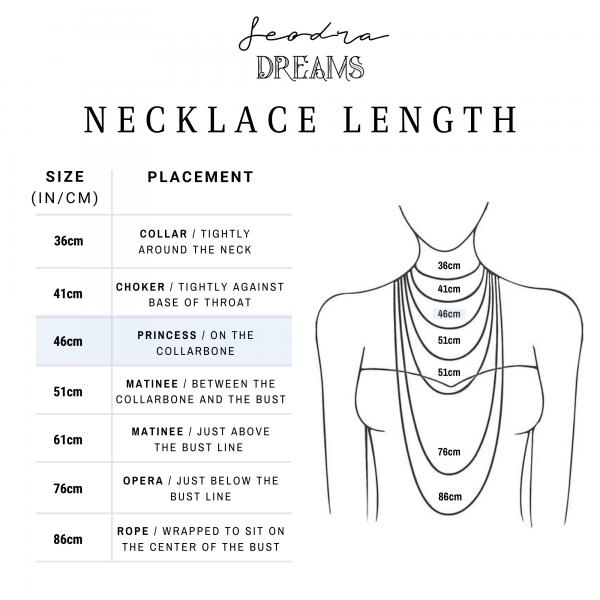 Shona Necklace - ginevra.necklace.length