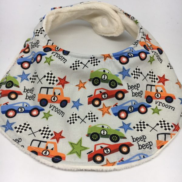 Cars Baby Bib