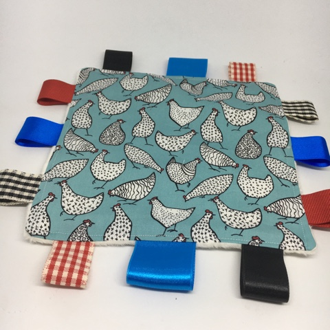 Chickens Sensory Blanket