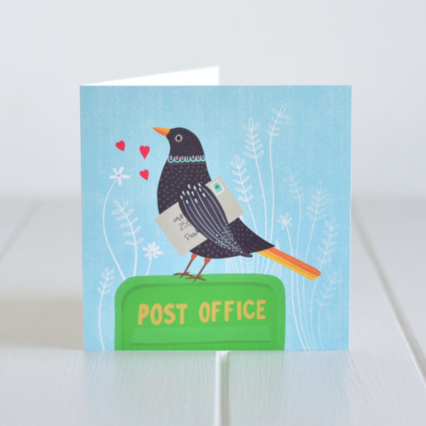 Greeting Card - Post Office