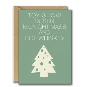 Toy Show christmas card