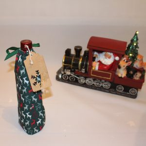 Reindeer Wine Gift Bag