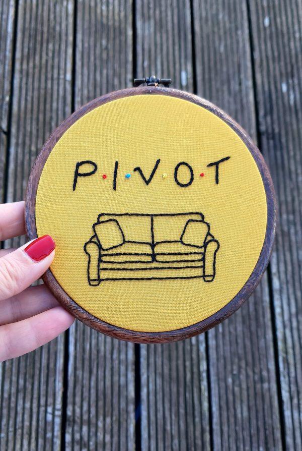 Pivot - Friends TV Show Embroidery - 2020 11 04 10.07.31 2