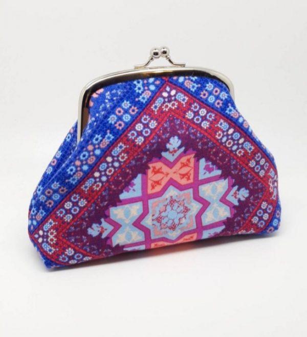 Blue & Pink Clutch Bag - 20201119 170300