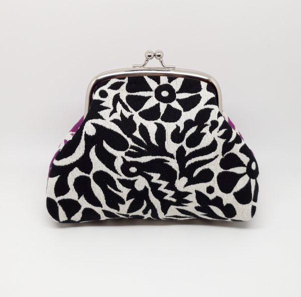 Purple & Black Clutch Bag - 20201130 224219