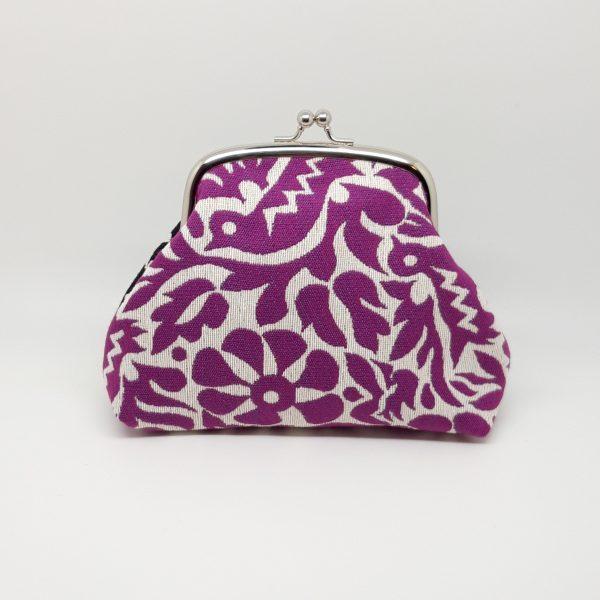 Purple & Black Clutch Bag - 20201130 224249