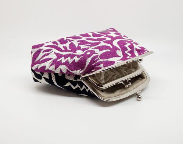 Purple & Black Clutch Bag - 20201130 224319