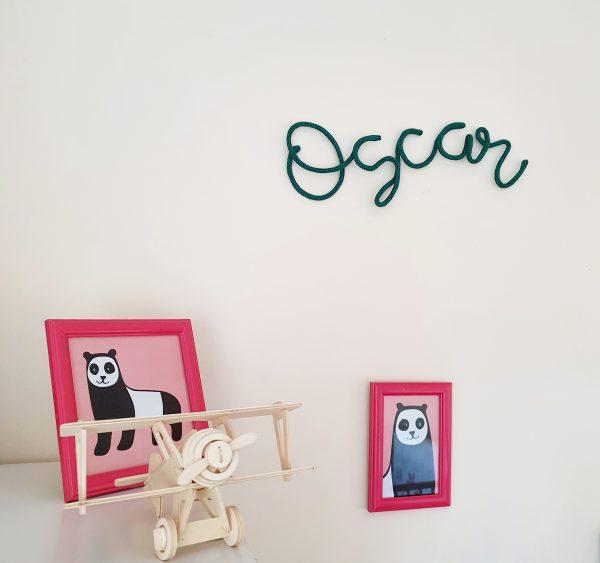 Kids Room Sign Custom Name - 7 3
