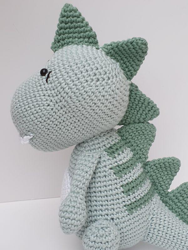 Crochet Dinosaur Rex - 8 4 rotated