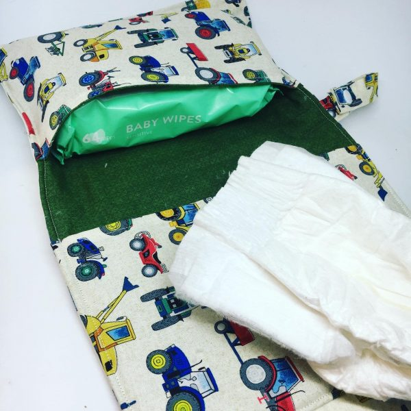 Nappy and Wipes Wallet Tractor