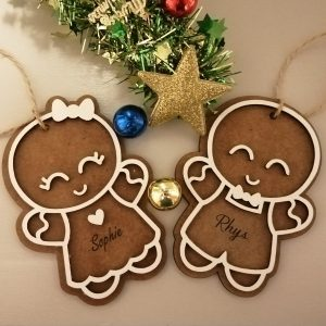 Gingerbread Christmas Ornaments