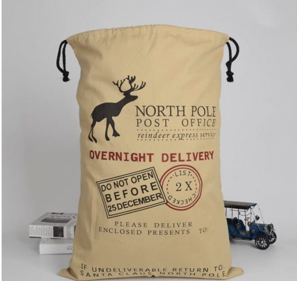 Personalised Santa Sack (Overnight Delivery)