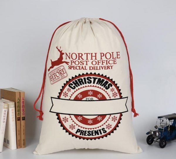 Personalised Santa Sack (North Pole)
