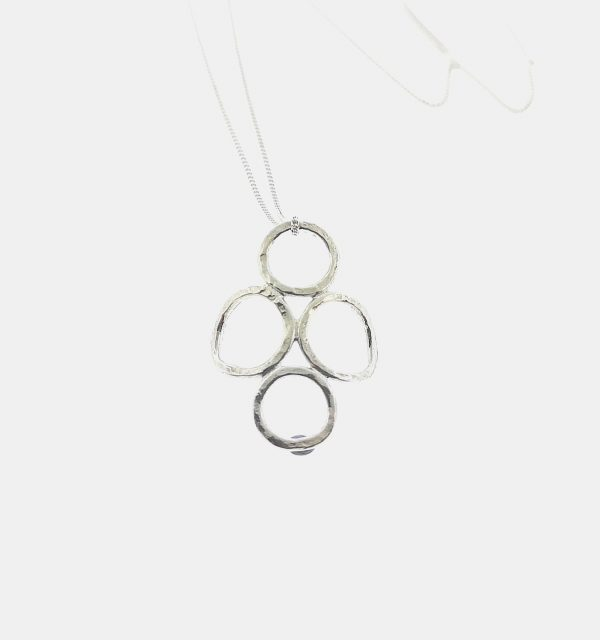 4 Circle Pendant - Sterling Silver - IMG 20200319 132040
