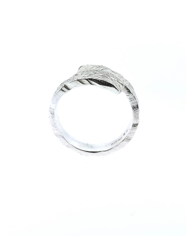 Driftwood Wrap Over Ring - Sterling Silver - IMG 20200325 174509