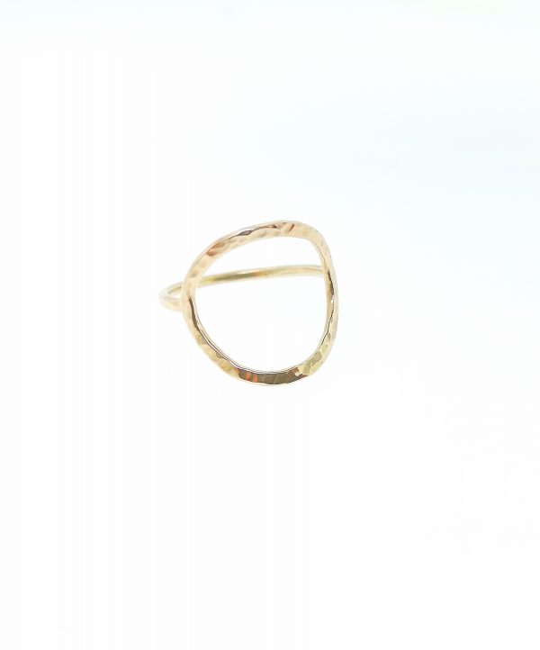 Full Circle Ring - Yellow Gold Plated