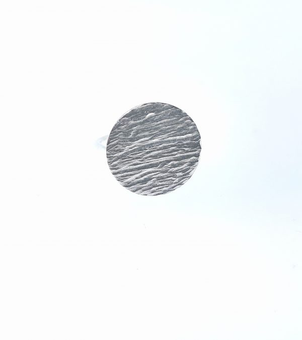 Ripple Disc Ring - sterling silver - IMG 20200415 114503